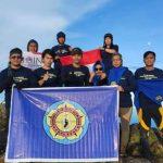 Sukses  lepas Sambut Tahun baru di puncak Bawakaraeng Team Badai Biru Kopabone Tiba dengan Selamat