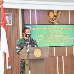 Syukuran dalam rangka HUT ke 64 Tahun , dirangkaikan peresmian Aula Sudirman di Makorem 141/ Tp, Begini sambutan Bupati Bone