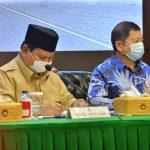 Menteri Suharso menyampaikan Rencana Pembangunan Pertahanan Tahun 2021