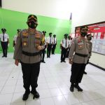 Kapolres Sinjai AKBP Iwan Irmawan S.Ik Ikuti Upacara Virtual HUT Satpam Ke-40