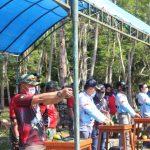 Danyon C pelopor Bone wakili Dansat Brimob Polda Sulsel dalam Lomba Menembak Eksekutif Di Bulukumba