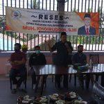 Reses,Muh.Khoiruddin Serap Aspirasi Kaum Milenial