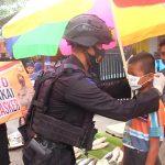 Brimob Batalyon C pelopor Melawan Covid-19, Tak kenal libur tetap kerja untuk Indonesia