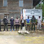 Escom PDRM dan POLRI silatuhrahmi di patok 02 perbatasan antar indonesia malaysia