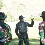 Korem 141/ Tp Asah kemampuan perwira, Bintara dan Tamtama lewat Latjabri Triwulan 1 T.A 2021