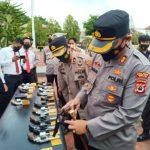 Cek Senpi Dinas Yang Dipinjam Pakaikan Kepada Anggota, Kapolres Sinjai AKBP Iwan Irmawan Sik, Antisipasi penyalahgunaan!!!