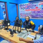 """Hadir Dalam Program """"Tamu Kita"""" RRI Boven Digoel Papua, Ini Yang Disampaikan Danyon Gas"""