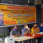 H. Taufiq Agus SH (Praksi Golkar ) HEARING DIALOG Tahap I Masa Sidang II Di Karossa Mamuju Tengah