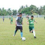 Perkuat Sinergitas, Kodim 0911/Nunukan Ajak Jurnalis Silaturahmi Di Lapangan Bola