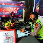 Sosialisasi Melalui siaran Radio Ini Yang Ingin dicapai satlantas polres Bone dalam operasi keselamatan 2021