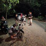 Antisipasi Aksi Balap Liar di Bulan Ramadhan, satlantas polres Bone Giatkan Patroli jaga Kamtibmas sampai Dinihari