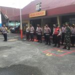 Polri dan TNI Nununukan Lakukan Pengaman Paskah di Sejumlah Gereja
