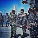 Kasal Dampingi Panglima TNI Laksanakan SAR KRI Nanggala-402