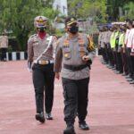 Kapolres Sinjai Pimpin Apel Gelar Pasukan Dalam Rangka Ops Ketupat 2021