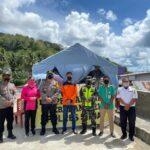 Kunjungi Posko Penyekatan Pemudik Diperbatasan Kembali Kapolres AKBP Iwan Irmawan S.ik Beri Bingkisan Buka Puasa