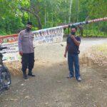 Wakapolsek Awangpone Polres Bone Kontrol Situasi obyek wisata Cempalagi dilibur Idhul Fitri 1442 H