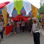 Kasat Lantas Tenda pesta Hajatan di kota Watampone menutup Jalan akan ditertibkan , Demi KamSeltibcar Lantas