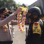 Kapolda Sulsel  Sambut  1 SSK personil Brimob Usai jalani Misi BKO 2.5 bulan Di Yalimo Papua