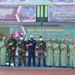 Korem 141/Tp gelar Baksos Donor darah dalam Rangka HUT ke 64 Tahun Kodam XIV /Hasanuddin