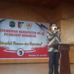Wakil Bupati Nunukan Buka Muscab -III Perbakin Nunukan
