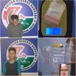 Dua pelaku bersama barang bukti Narkoba Diamankan Satreskoba polres Sinjai