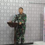Danrem 141 /Tp Brigjen TNI Djashar Djamil S.E.MM kungker dalam Rangka peninjauan dengan Para Dandim sejajaran