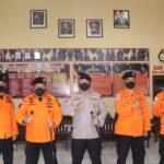 Pererat Tali Silaturahmi , Kepala Basarnas Sulsel kunjungi Mako Brimob C pelopor