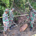 Dandim 1407/Bone Letkol Kav Budiman ,Bom Craft temuan Warga segera di evakuasi Oleh team TNI -POLRI