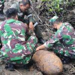 Denpal XIV/1 watampone Evakuasi Benda yang Diduga Bahan Peledak (sejenis Bom)