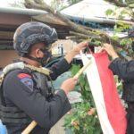 Tanamkan Cinta Tanah Air, Brimob Bone Lakukan Hal Ini Saat Patroli KRYD