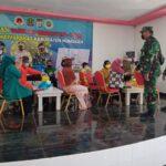 Koramil 0911-02/Sbt Laksanakan Serbuan Vaksinasi Tahap (Dosis) Ke II TNI POLRI Terpadu