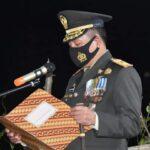 Danrem 141/Tp,Brigjen TNI Djashar Djamil Hadiri pemakaman Pratu Zul Ansyari Anwar Korban Penyerangan Kelompok Separatis Papua