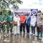 Baksos dalam Rangka Hari Lahir kerukunan keluarga Luwu Raya kabupaten Asmat