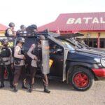 Pasukan Anti Anarkis Brimob Bone permantap latihan ,siap Amankan Pon XX PAPUA