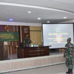 Danrem 141/Toddopuli, Sul-sel. Brigjen TNI Djashar Djamil. S.E M.M Pimpin Pelaksanaan Kegiatan Pemberdayagunaan Koramil Model Korem 141/Tp Sul-Sel, Semester II TA 2021