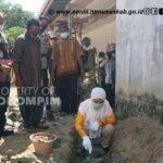 Peletakan Batu Pertama Masjid Al Muhajirin Pulau Raya Mansapa, Bupati Laura : Saya Kagum dan Terharu